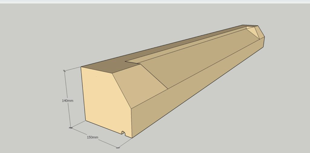 140 x 150mm profile